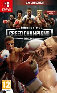 Big Rumble Boxing: Creed Champions Day One Edition (Switch) Brand New & Sealed