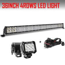 36inch 4368W CREE LED Light Bar Flood Spot Combo Driving Lamp Offroad Truck ATV