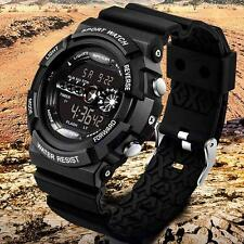 Fashion Luxury Men Watch Sport Stainless Steel Quartz Analog Wrist Watch BLA GU