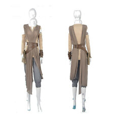 Original Customized Star Wars Force Awakens Rey Cosplay Costume Suit Halloween