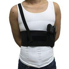 Tactical Elastic Belt Belly Band Gun Holster Shoulder Right Hand Pistol Holder