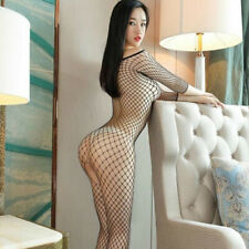 Sexy Women Underwear Perspective Fishnet Tights One-piece Mesh Body Stockings PK