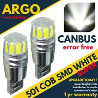 Renault Trafic Led Sidelight Bulbs Xenon Bright White Side Light Beam Car Bulb