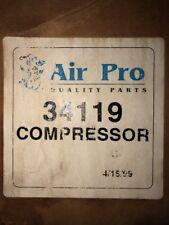NOS AC Compressor fits 1985-1994 Volvo 240 244 245 940 Incl. Manifold Not Clutch