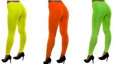 NEW 80's Neon Leggings - Disco Party Funny Fancy Dress Halloween Accessories