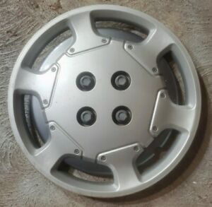 "(1) OEM 1991-1995 Saturn SL1 SW1 14"" Bolt-On Hubcap Wheel Cover #826 GM 21010131"