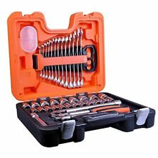 Bahco S400 1/2 Inch Drive 40 Piece Socket Set in Case