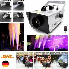 900W Nebelmaschine Stage Haze Effekt DJ Disco Party Mit Fernbedien Rauchmaschine