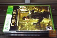 Deus Ex: Human Revolution Director's Cut (Xbox 360 2013) FACTORY SEALED! - EX!