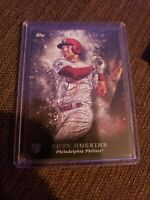 2018 Topps Inception Rhys Hoskins Phillies RC