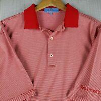 ALLEN EDMONDS Size XL Mens Golf Casual Polo Shirt Stretchy Fairway & Greene EUC