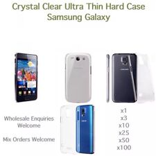 Samsung Galaxy Crystal Clear Hard Case Wholesale Various Models