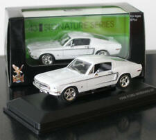 FORD Shelby Mustang GT 2+2 Coupe weiss white Fastback 1968 Road Signature 1:43