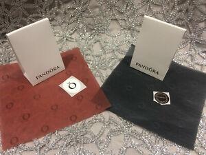 Genuine NEW PANDORA Pop-Up Charm Box, Pandora Tissue & Sticker -EX Pandora Stock