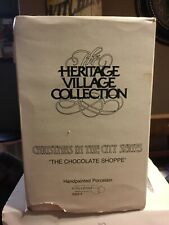 """Department 56 - Christmas In The City - """"The Chocolate Shoppe"""" - 5968-4"""