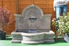 , LARGE STONE GARDEN OUTDOOR  WALL WATER FOUNTAIN FEATURE