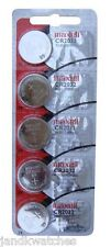 CR2032 Lithium 5-Pack Batteries Strip - Genuine Maxell