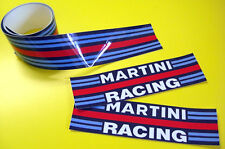 MARTINI style STRIPE TAPE sticker 1200x40mm 2 LENGTHS!
