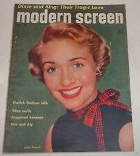 Marilyn Monroe - Modern Screen Magazine - November 1952 - Jane Powell cover