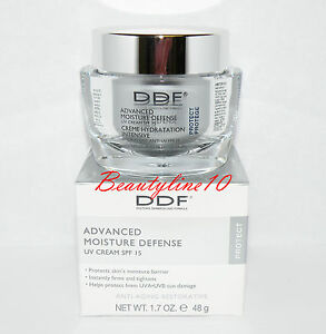 DDF Advanced Moisture Defense UV Cream SPF 15 1.7 oz New in Box