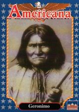 Geronimo, Apache Indian Chief -- Historic Americana Trading Card -- NOT Postcard