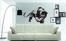 "PANTERA NERA Wall Art Sticker, Decalcomania. muri, vetro, Cars 74 x 54cms (29 x 21"")"