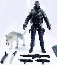 G.I. Joe Pursuit Of Cobra (POC) 2010 SNAKE EYES (NINJA COMMANDO) (N. 1002) Loose