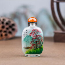 Inner Painting Snuff Bottle Chinese Antique Sail Right Before the Wind