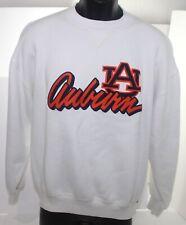 Vintage Auburn Tigers Russell Athletic White Sweatshirt Adult Large 1980s 1990s