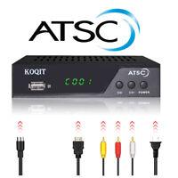 Clear Qam Atsc Digital Converter Box Analog FTA Cable Receiver Tuner TV Recorder