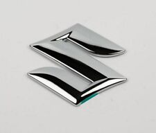 Suzuki Grand Vitara 2005-> SX4 S-Cross front grille badge emblem chrome