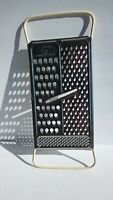 Vintage Foley All In One USA Stainless Steel Cheese Vegetable Grater White Decor