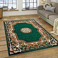 RUGS AREA RUGS CARPET 8x10 RUG ORIENTAL GREEN LARGE LIVING ROOM FLOOR 5x7 RUGS ~