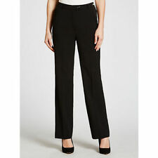 Wool Blend Tailored 32L Trousers for Women