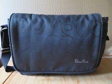 Silver Cross Black Messenger Baby Changing Bag