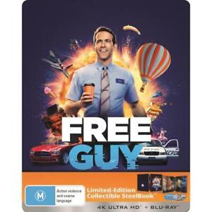 FREE GUY 4K UHD / BLU-RAY STEELBOOK ** NEW  ** 061021, FREE POST, PRE-ORDER