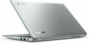 "13.3"" screen Toshiba Chromebook  2GB RAM 16GB SSD Intel 2955U Chrome OS Webcam"