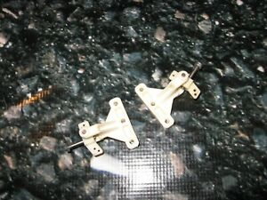 Vintage Rare White Associated Pan Car Spares Steering Complete HD (2) New