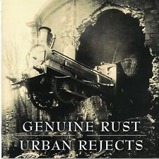 GENUINE RUST / URBAN REJECTS SPLIT CD OI STREET PUNK PSYCHOBILLY EVIL CONDUCT