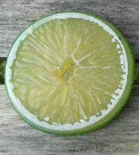 30 Artificial lemon Slice Fake Fruit Faux Food House Kitchen Party BBQ Decor 7cm