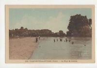 Villeneuve La Guard Plage De Courlon France Vintage Postcard US017