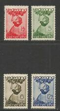 Netherlands 1935 Child/Apples semipostal--Attractive Art Topical (B82-85) MH