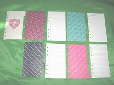 Compact Heart Tab Page Amp Stickers Lot Gap Binder Set Franklin Covey Planner