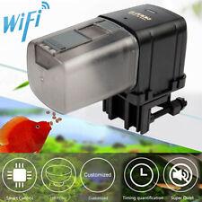 Wifi Remote Fish Feeding Dispenser Automatic Aquarium Auto Feeder High Quality