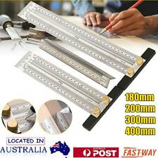 High-precision T-Type Square Ruler for Woodworking Marking Scribing Line Rule AU