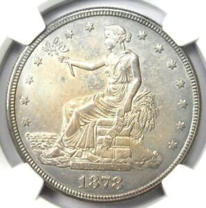 1878-S Trade Silver Dollar T$1 - Certified NGC Uncirculated Details (MS UNC)