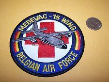 MEDEVAC-15 WING BELGIAN PATCH AIR FORCE MILITARY BELGIUM C-130 HERCULES