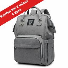 Mama Wickeltasche Babytasche Windel USB Buchse Reise Rucksack Wasserdichte Bag