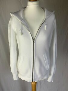 Converse White Ladies Knitted Hoodie - Size Medium - Never Worn