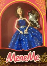 Barbie type doll MENE-ME Girl.ARTICULATED,MADE IN CHINA..NEW